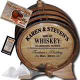 American Oak Barrel Personalized American Oak Aging Barrel