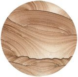 Thirsty Stone Natural Solid Sandstone Coasters Set of 4