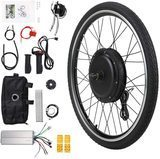 "Jaxpety 26"" x 1.8"" E-Bike Front Wheel Kit 36V 500W"