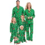 PajamaGram Charlie Brown Christmas Matching Family Pajamas